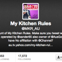 My Kitchen Rules MKR biggest fan ditches show for The Block
