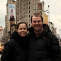 Brad & Lara engaged in NYC