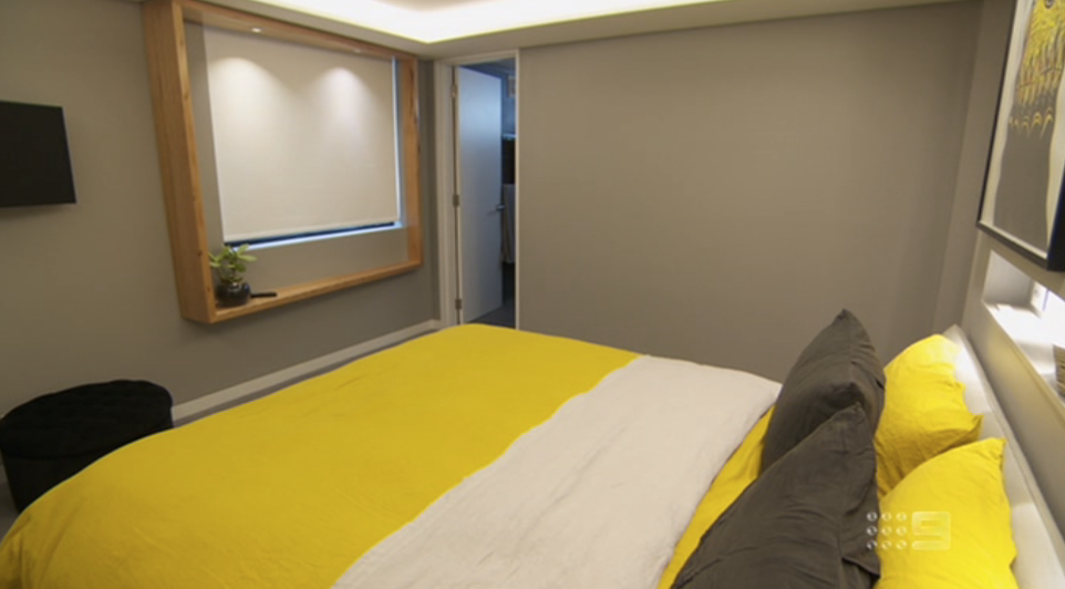 The Block Sky High 2013 Room Reveal 3 Master Bedroom Dressing
