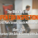 The Block Sky High Open for Inspection