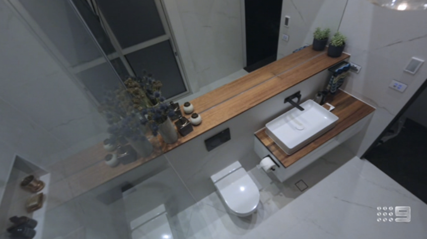 The Block Auditions >> The Block Glasshouse - Ensuite Bathroom Reveals The Block 2018