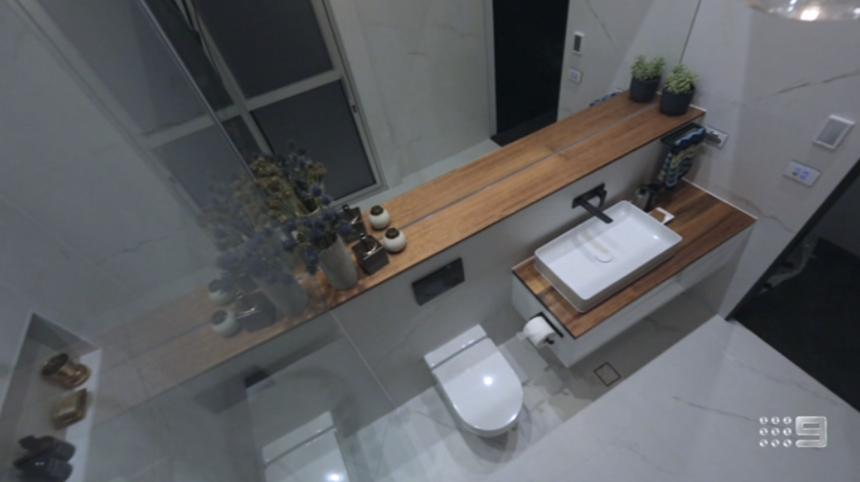 The Block Glasshouse Ensuite Bathroom Reveals The Block 2018