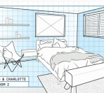 The Block Triple Threat Bedroom Plans